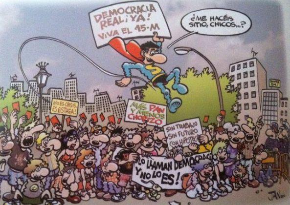 Superlópez ya se sumó a las movilizaciones.