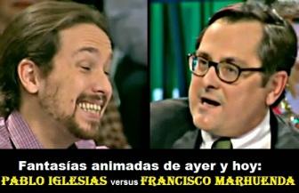 Pablo Iglesias Turrión versus Francisco Marhuenda
