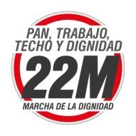 El 22M llama a tomar las calles-logo