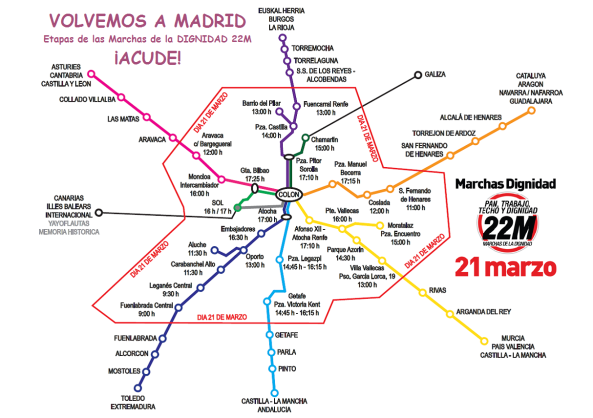 Marchas 22M 2015